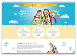 Kids School Website Template Top 20 Colorful Kindergarten Wordpress Themes 2019