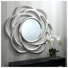 large silver wall mirror extra large bold circular silver leaf finish wall mirror large round wall large silver wall mirror