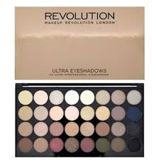 new in sealed box revolution makeup ultra 32 eyeshadow palette flawless