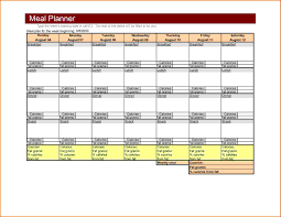 Excel Weekly Meal Planner Catchy Free Similiar Weekly Planner Template Keywords Then Weekly