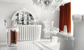 White Living Room Living Room White Floral Print Fabric Eyelet Curtain For Living