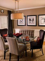 best lighting for dining room. View In Gallery Dining Table With Glass Top And Curved Legs Best Lighting For Room
