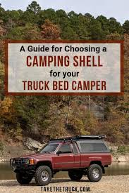 How to Choose a Truck Canopy for Truck Shell Camping | Trucks ...
