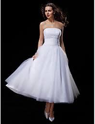 tea length wedding dresses search lightinthebox