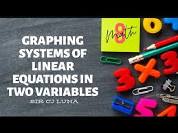 graphing systems of linear equations in