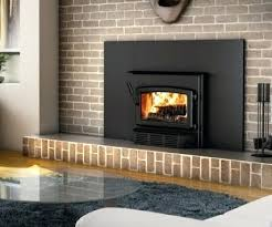 wood inserts for fireplaces wood burning fireplace inserts reviews canada