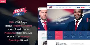 Polytico Political Ngo Html Template Modern Web