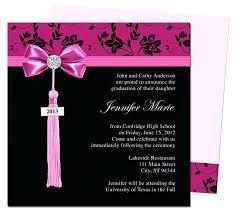 Free Graduation Announcement Templates Word Invitation Designs Best