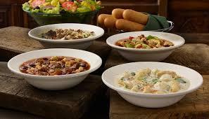 unlimited soup salad breadsticks at