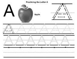 Letter Practicing Letter A Practice Worksheet