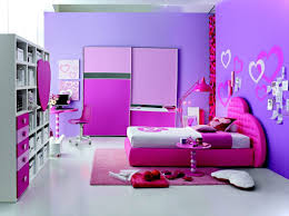 bedroom teen room girls room decorating ideas purple stain wall with wall decal sticker