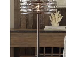 antique bronze chrystal table lamp