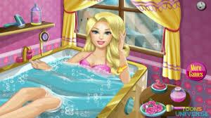 barbie ball spa ritual barbie dressup makeup games for s