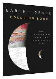 earth and e coloring book