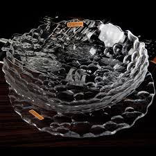 get ations free germany imported nachtmann crystal glass stylish minimalist living room decorative fruit bowl fruit plate