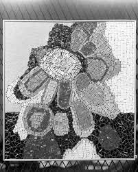 Florida Memory • Mosaic work created by artist Beth Arthur in ...