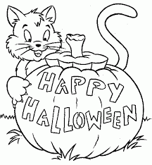 Halloween Pages Marvelous Free Halloween Coloring Pages For Kids ...