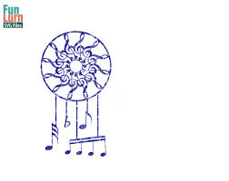 What Were Dream Catchers Used For Inspiration Musical Notes Dreamcatcher SVG FunLurn SVG