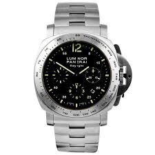 pre owned watches from berry s jewellers officine panerai luminor marina daylight 44mm steel black dial men s bracelet watch pre owned