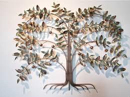 curtis jere em tree of life em metal wall sculpture