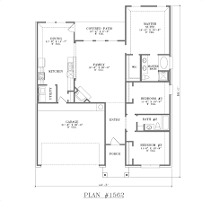 Modern Three Bedroom House Plans 3 Room Simple Home Designs
