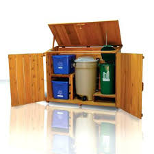 wooden garbage can garbage can holder outdoor wooden garbage can storage wooden garbage truck plans