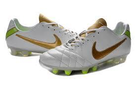 nike tiempo legend iv fg tpu kangaroo leather cleats white gold green