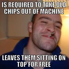 Vending Machine Attendant Custom Good Guy Vending Machine Attendant Meme Guy