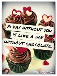 Chocolate Love Quotes Adorable Love And Chocolate