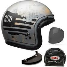Bell 500 Helmet Size Chart Details About Bell Custom 500 Se Deluxe Rsd 74 Open Face Jet Motorcycle Helmet All Sizes