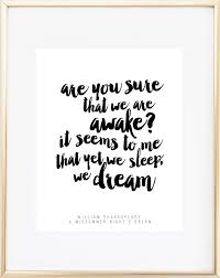 Midsummer Nights Dream Quote Best of Shakespeare Quote A Midsummer Night's Dream Mad Kitty Media