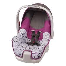 infant car seat review evenflo nurture