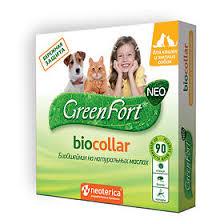 <b>GreenFort neo Био Ошейник</b> для кошек и мелких собак, 40см ...