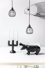 Bolcom Hkliving Lab Lamp Hanglamp Met Pendel Zwart