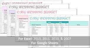 Basic Wedding Budget Serpto Carpentersdaughter Co