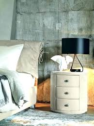 side table with drawer and shelf round nightstand with storage round nightstand with drawer affordable bedside