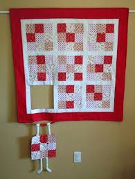 Runaway Quilt Block Hang in there/Humorous quilted wall & Like this item? Adamdwight.com