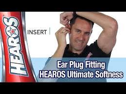 Easiest Foam <b>Ear Plug</b> Fitting Instructions - HEAROS <b>Ultimate</b> ...