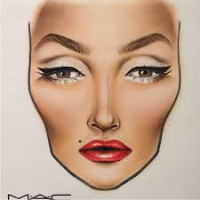 Mac Cosmetics Halloween Face Charts Inspirewoman Discovered By Anett Belegrai On We Heart It
