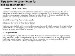 Pre Sales Engineer Cover Letter Project Awesome Technical Sales