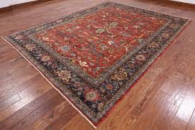 oriental fine serapi hand knotted wool rug 9 x 12 traditional area rugs by manhattan rugs
