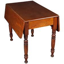 19th century antique victorian drop leaf table solid mahogany wood for