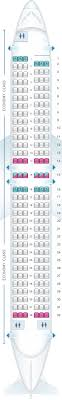 seat map for air transat boeing 737 800 us and south