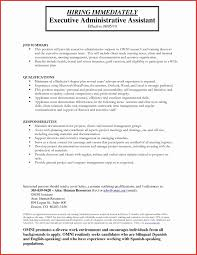 Free Administrative Assistant Resume Templates Lovely Executive
