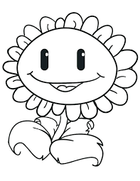 Coloring Pages Of Sunflowers Plants Coloring Page Plant Coloring