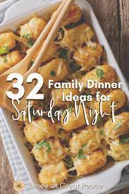 Soaking in soy sauce is optional but highly recommended. Family Dinner Ideas For Saturday Night Renee At Great Peace