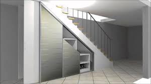 Meist werden standard möbel aneinander gereiht, doch der vorhandene stauraum kann nicht effizient genutzt werden. Cabinet Einbauschrank Zur Nutzung Von Stauraum Unter Einer Treppe Von Dorr Mannheim Youtube