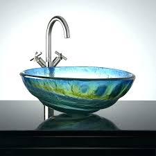 glass bathroom sink bathroom sink bowls the extraordinary glass vessel sinks glass bathroom sink bowls vessel glass bathroom sink