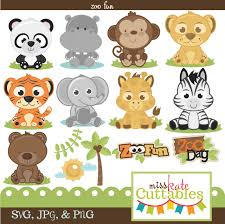 zoo animal clipart cute. Perfect Zoo Image Transparent Download Baby Animal Scrapbook Instant Farm  Barnyard Clipart Stock Clipart Zoo  Intended Zoo Animal Cute L