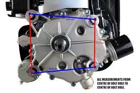 13 Horse Power Vertical Shaft Mower Engine Replace etc